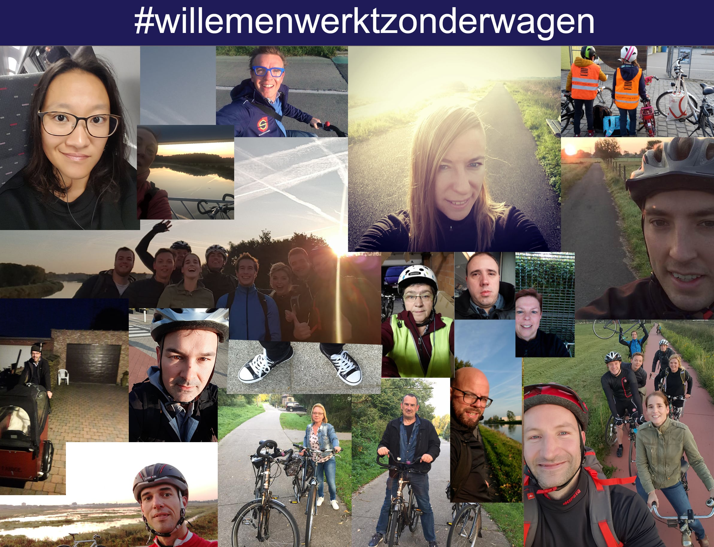 Respect - MVO - Car free day Willemenwerktzonderwagen