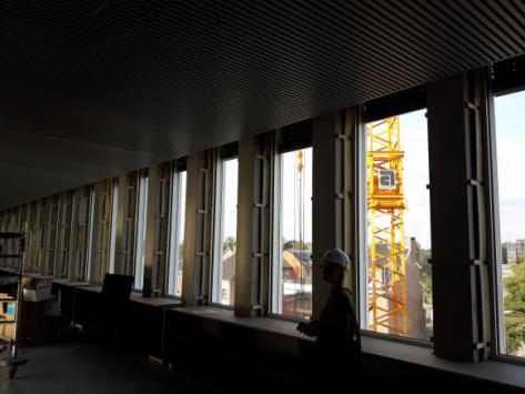 Visite Au Chantier De Nos Nouveaux Bureaux à Hasselt Willemen Groep